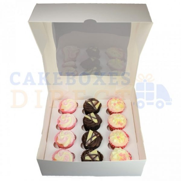 12 cupcake 4inch open