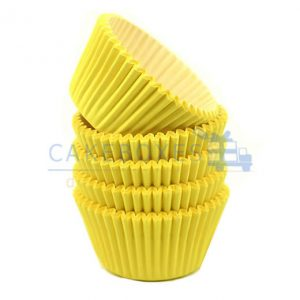 Yellow Cupcake Cases (Qty 1440)