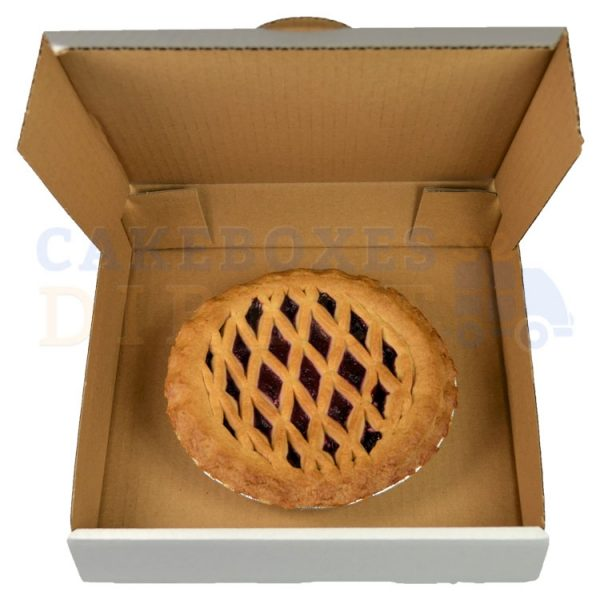 10 x 10 x 2.25 inches (corr) Small Pie Box