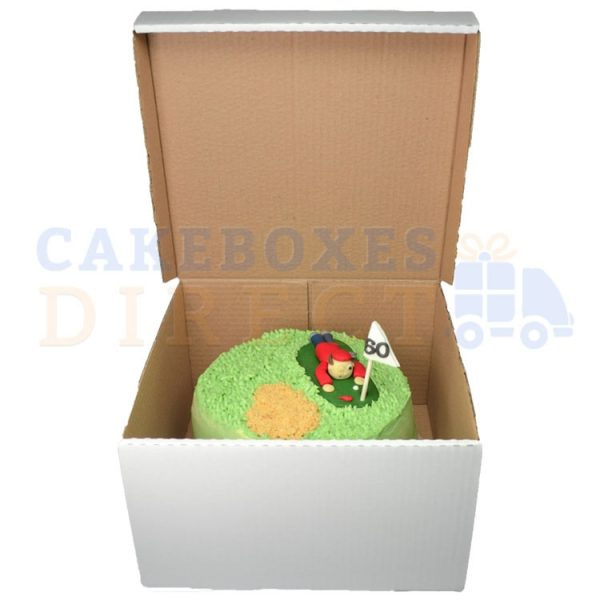 10 x 10 x 6 inches Corrugated Box
