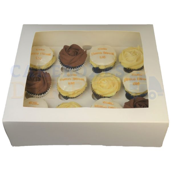 12 Cupcake 4inch Deep Front