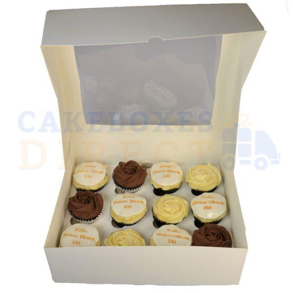 12 Cupcake 4inch Deep Open