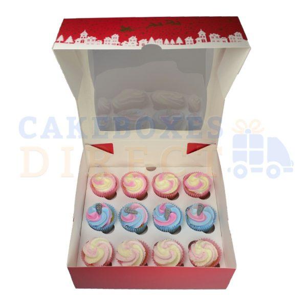 12 cupcake open