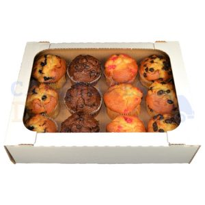 12 Muffin Tray - 14 x 10 x 3.5in
