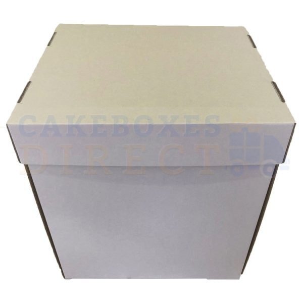 12 x 12 x 12 inches Corrugated 2 Piece Box