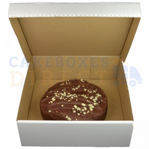 10.5 x 10.5 x 4 inches (corr) Medium Gateaux