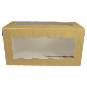 8x4x4in. Kraft Doughnut Box