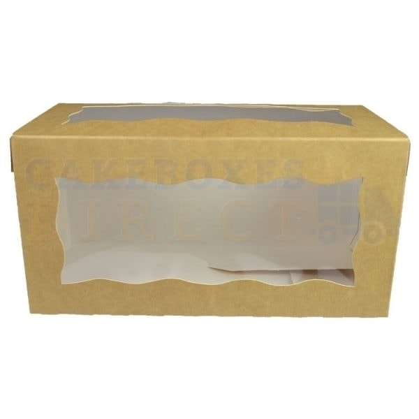 8x4x4in. Kraft Doughnut Box