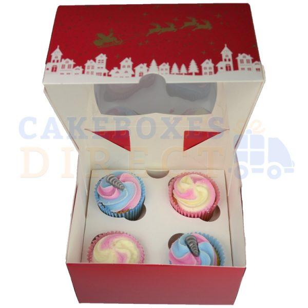 4 cupcake open