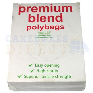 Excel Clear Food Bags 7 x 9 (100 gauge) (Qty 1000)