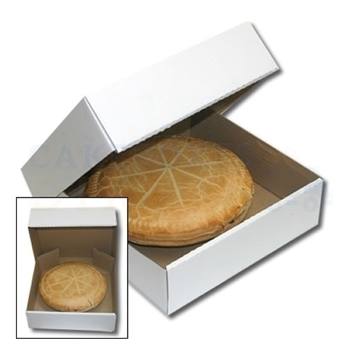 10.5 x 10.5 x 3 inches (corr)  Apple Pie Box