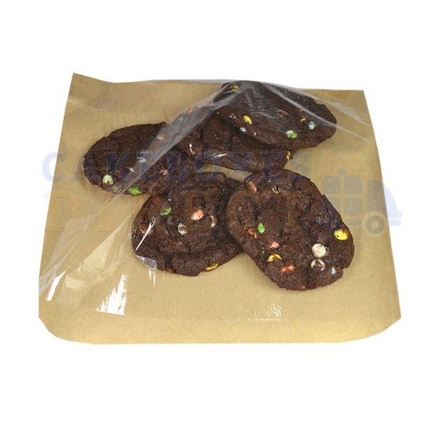 brown clear bag 2