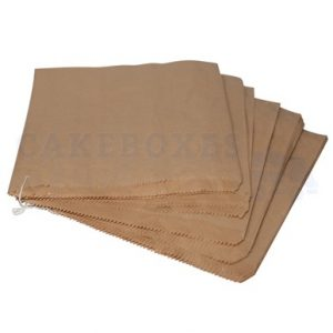 Brown 8 x 8 in paper bags (Qty 1000)