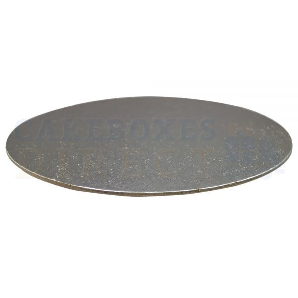 "8"" Silver Rnd Double Thick Cake Boards (Qty 10)"
