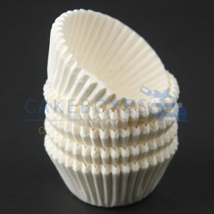 White Mini Confectionery Cases 31 x 23mm (Qty 5000)