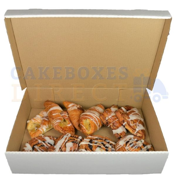 17.25 x 11.5 x 4 inches (corr) Danish Box