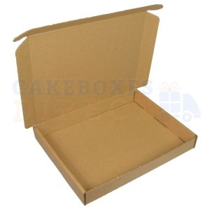 Postal Mail Box - (Small) 240x187x30mm tray box (Qty 100)