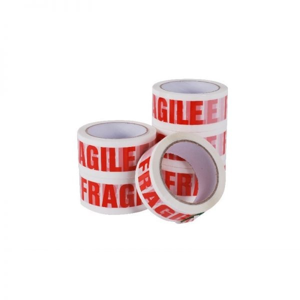 Fragile Low Noise Tape 48mm x 66mm (Qty 6)