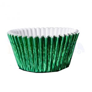Green Foil Cupcake Cases (Qty 1000)
