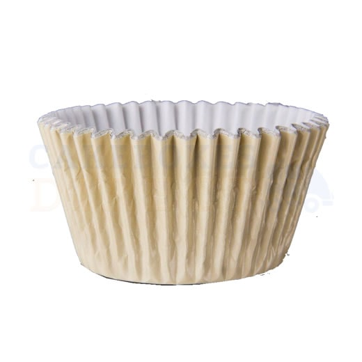 Ivory Foil Cupcake Cases (Qty 1000)