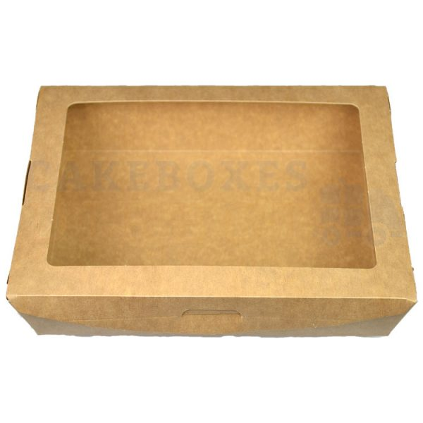 Leakproof Large Brown Salad Container (Qty 300)