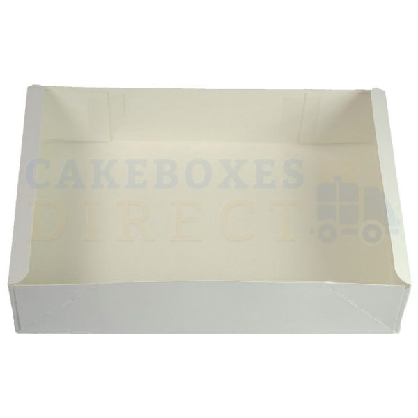 Cake Tray 4PT Glued 8 x 10.25 x 2 (Qty 400)