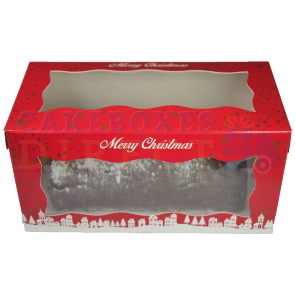 Xmas Yule Log Box