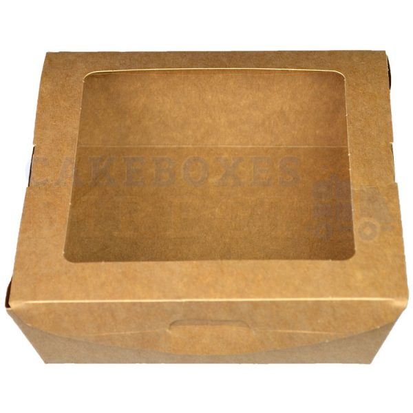 Leakproof Medium Brown Salad Container (Qty 300)