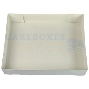Cake Tray 4PT Glued 9 x 6 x 2 (Qty 400)