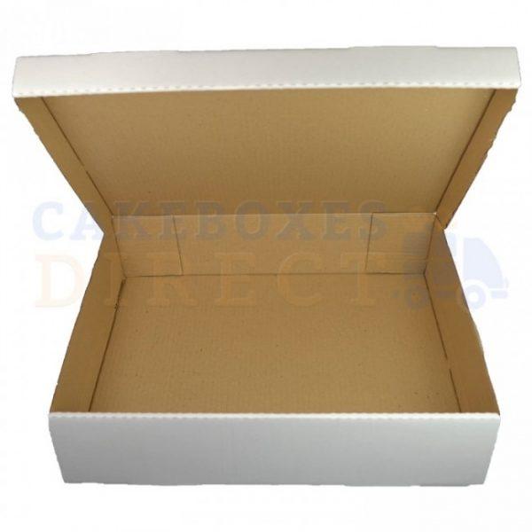 13 x 13 x 4 inches (corr) Super Large Gateaux Box