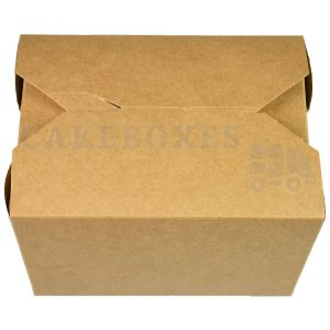 Leakproof Container NO1 Kraft (90x110x65mm) (Qty 450)