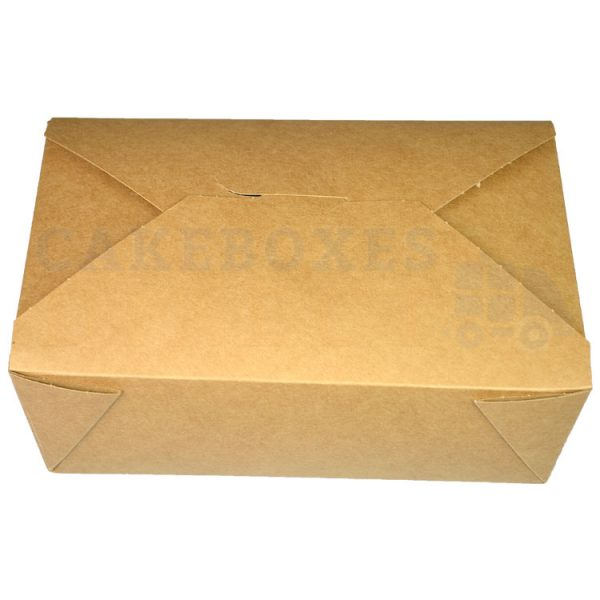 Leakproof Container NO 3 Kraft (140x195x65) (Qty 180)