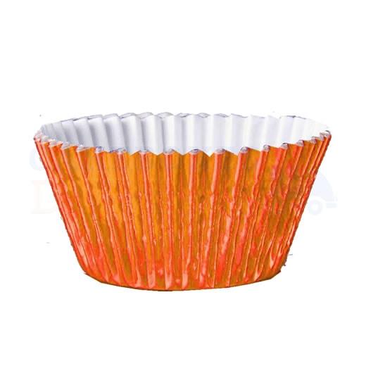 Orange Foil Cupcake Cases (Qty 1000)