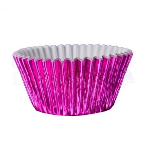 Pink Foil Cupcake Cases (Qty 1000)