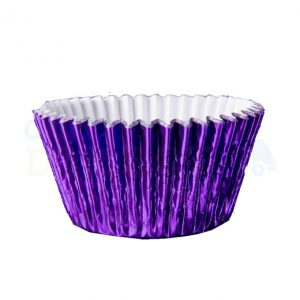 Purple Foil Cupcake Cases (Qty 1000)
