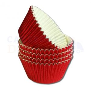 Red Foil Cupcake Cases (Qty 1000)