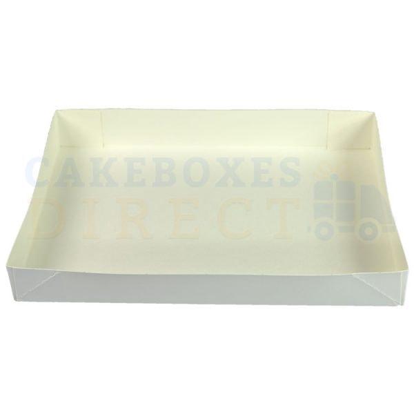 Cake Tray 4PT Glued 9 x 6 x 1.25 (Qty 500)