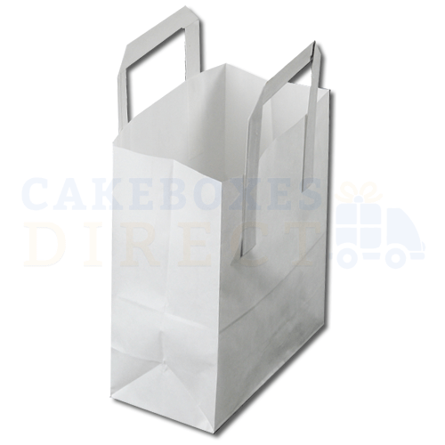 Paper Carrier Bag 254 x 140 x 305mm (approx) Large White (Qty 250)