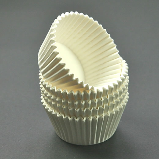 White Cupcake Cases 51 x 38mm (Qty 5000)
