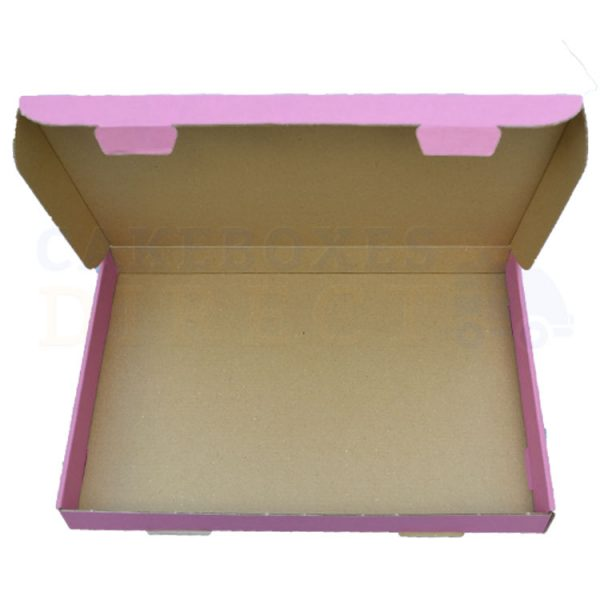 Pink Large Postal Open