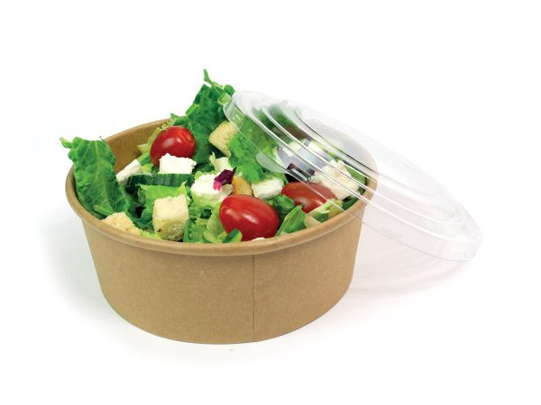 disposable takeaway 750ml salad box bowls lids recyclable fast food packaging 2498 p